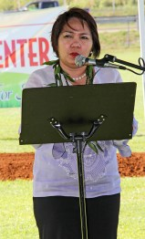 Philippine General Consul Gina Jamoralin