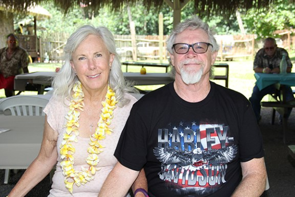 Kathy an Bill Jones, of California