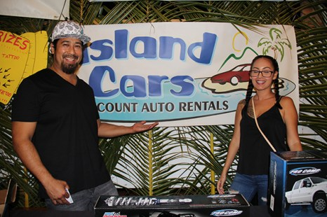 Island Cars' Brandon Young and Jen Kaona