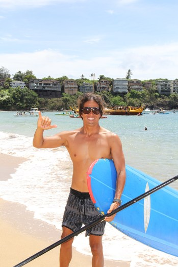 Marlo, surf instructor at Kaua'i Beach Boys