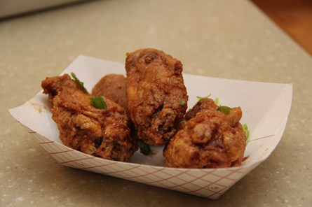 The Tokyo Chicken Wings, a recipe from Erik Tanigawa's mother.