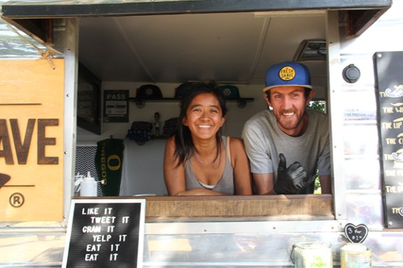 Daniel and Priscilla Soulé of The Fresh Shave Ice