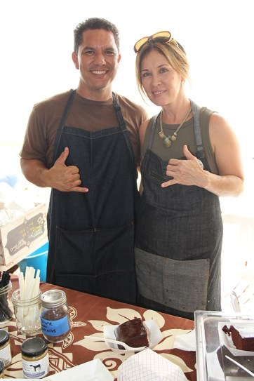 Kalen Kelekoma and Elise Gavitt, of Jam on Kaua'i