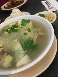 Oxtail soup at Tip Top Cafe in Lihu'e. Photo by Emily Manuel