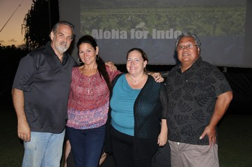Left to right, Mitch Galin, Robin Wong, Melissa McFerrin and Randy Francisco