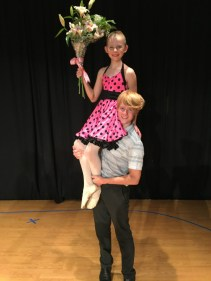 Selah Johnson, from Ballet 4, and her brother Kenyon. Contributed photo