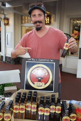Dustin Stonner, of Uncle D's BBQ Sauces