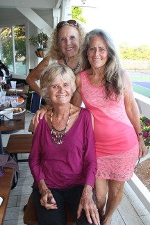 Left to right, Gabriela Taylor, Vivian Hager and Patrice Pendarvis