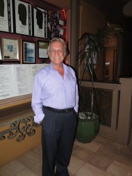Giuseppe Avocadi, owner of Café Portofino in Kalapaki Bay, presents an award winning restaurant and a luxurious dining experience to tourists and locals on Kaua'i.