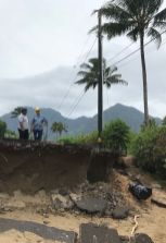 Photo courtesy Kaua'i Emergency Management Agency