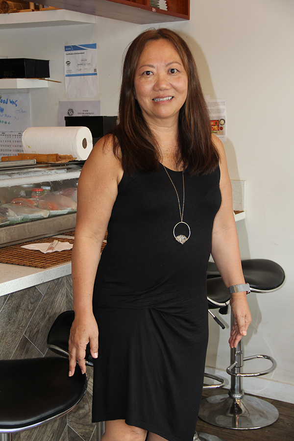 Japanese Grandma's Cafe owner Keiko Napier was born in Tokyo and raised in Los Angeles, Calif. The daughter of a Japanese master chef, she's got Japanese food in her heart and soul.