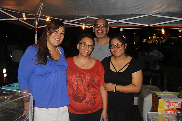 Left to right, Carrie Moses, Marla Soliven, Kahanu Smith and Jaimelyn Dela Cruz