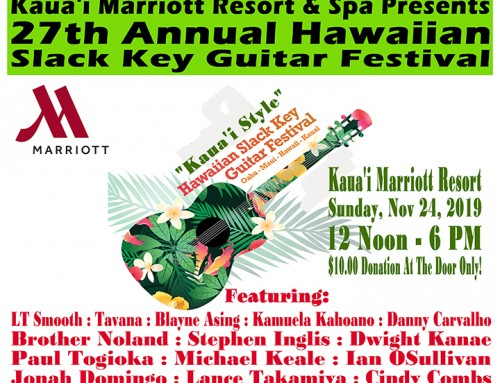Celebrate Hawai'i's 189-Year-Old Slack Key Guitar Tradition