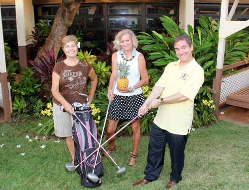 Pineapples and Golf Clubs Against Breast Cancer