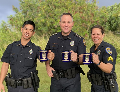 Join 'Coffee with a Cop' in Kīlauea Saturday