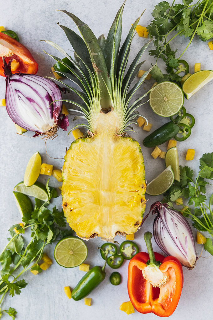 pineapple salsa ingredients