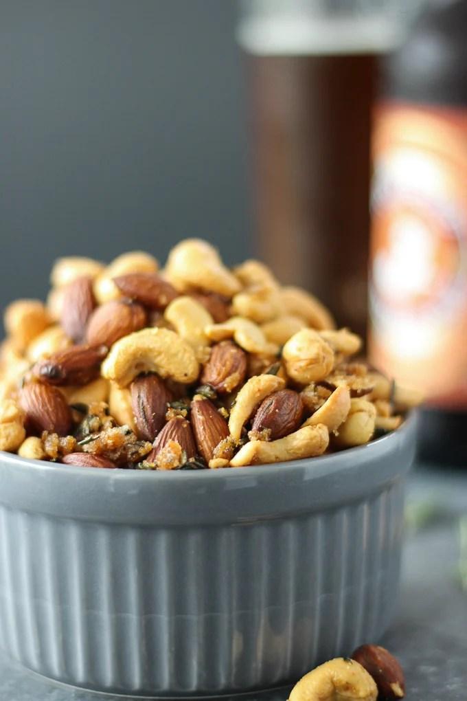 Roasted Rosemary Nuts