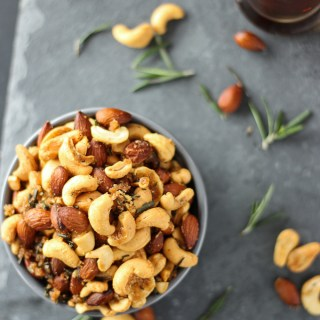 Roasted Rosemary and Cayenne Nuts