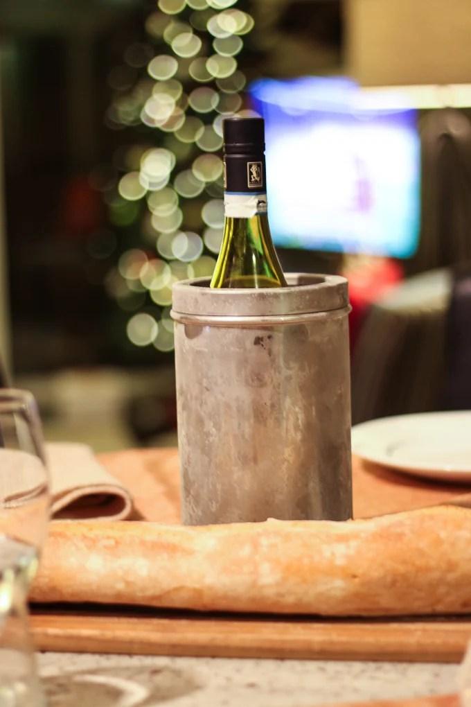 Wine + Baguette