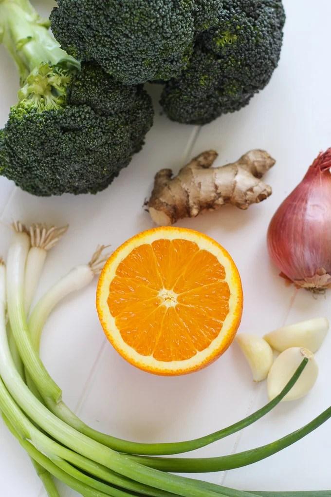 Broccoli and Orange Miso Pasta // Fork in the Kitchen