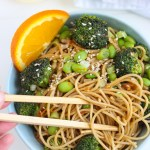 Broccoli and Orange Miso Pasta // Fork in the Kitchen