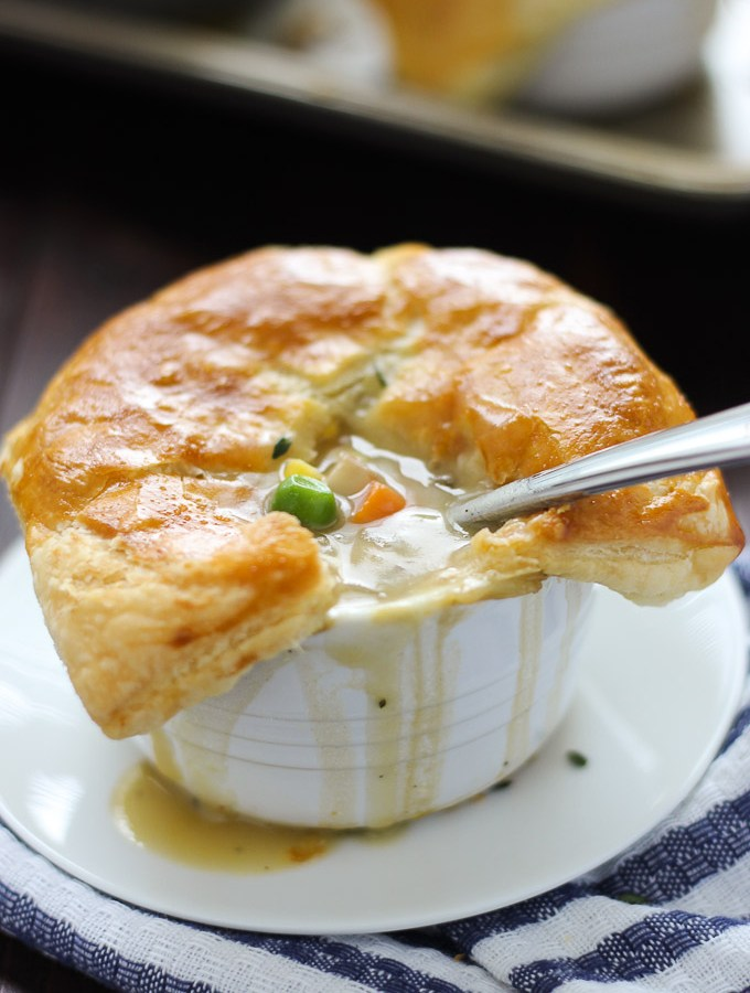 Individual Vegetarian Pot Pies
