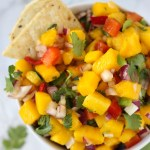 Spicy Mango Salsa // Fork in the Kitchen