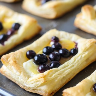 Blueberry Lemon Pastries
