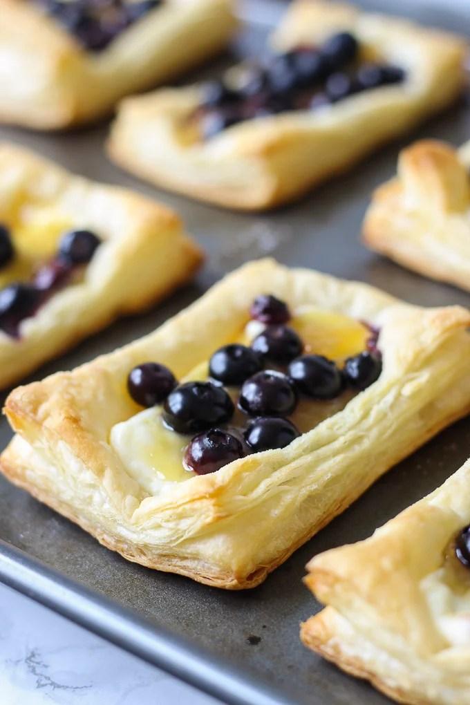 Blueberry Lemon Pastries
