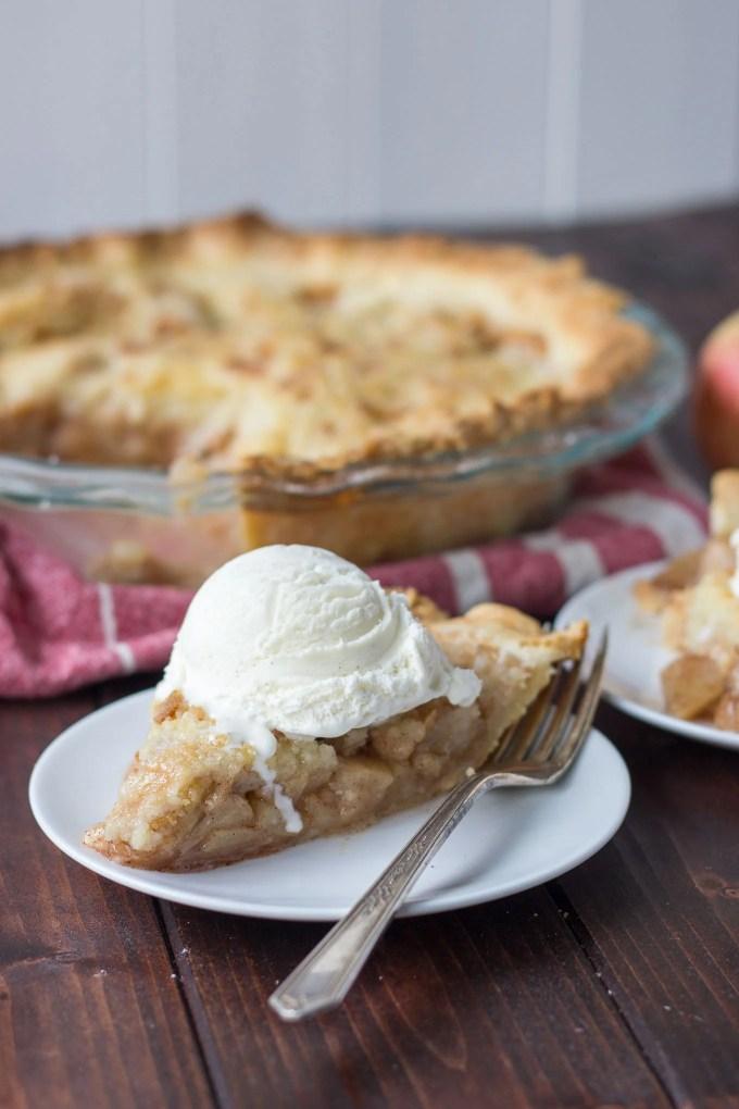 Apple Crisp Pie // Fork in the Kitchen