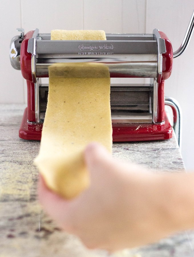 Rolling Out Dough - Homemade Pasta // Fork in the Kitchen