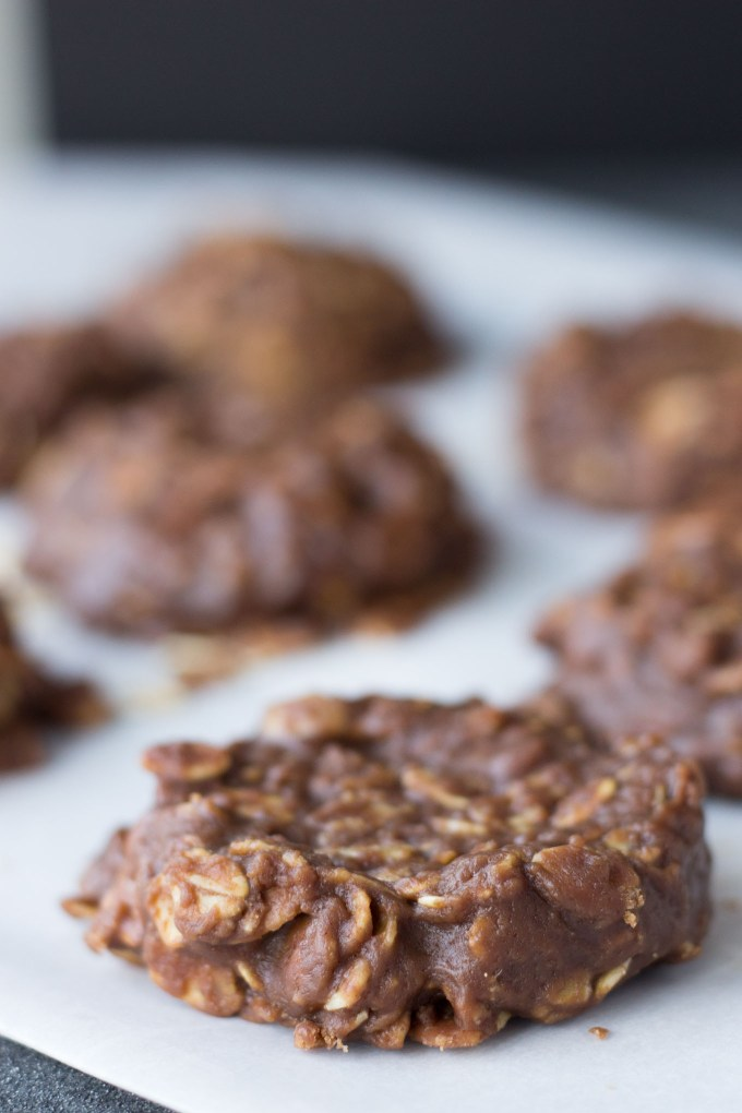 No Bake Chocolate Cookies // Fork in the Kitchen