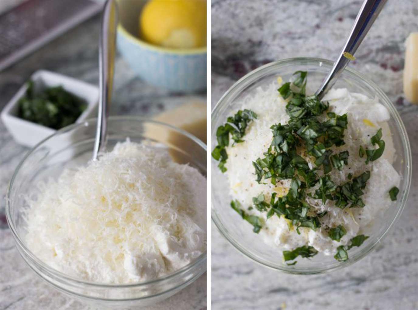 Homemade Cheese Ravioli - ricotta filling