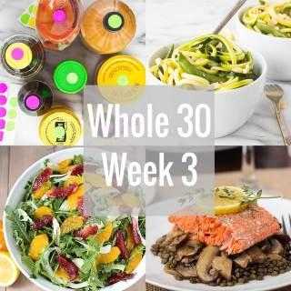 Whole 30: Week 3