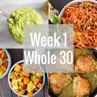 Whole 30: Week 1