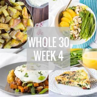 Whole 30: Week 4