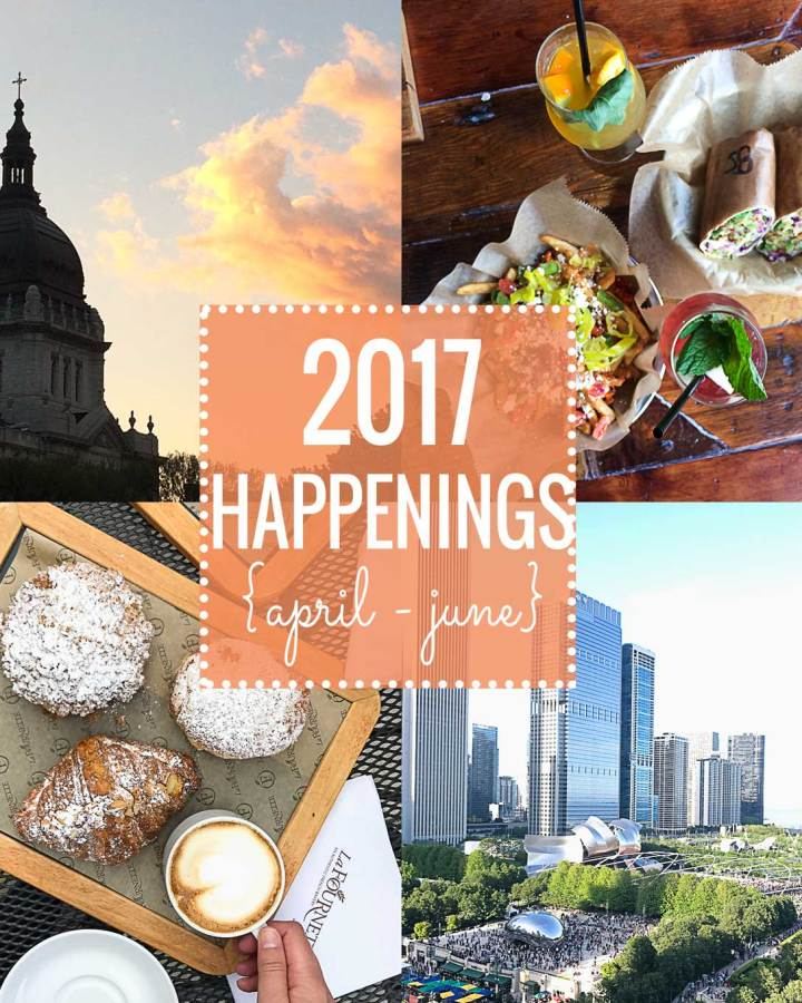 2017 Happenings | April - June | Fork in the Kitchen