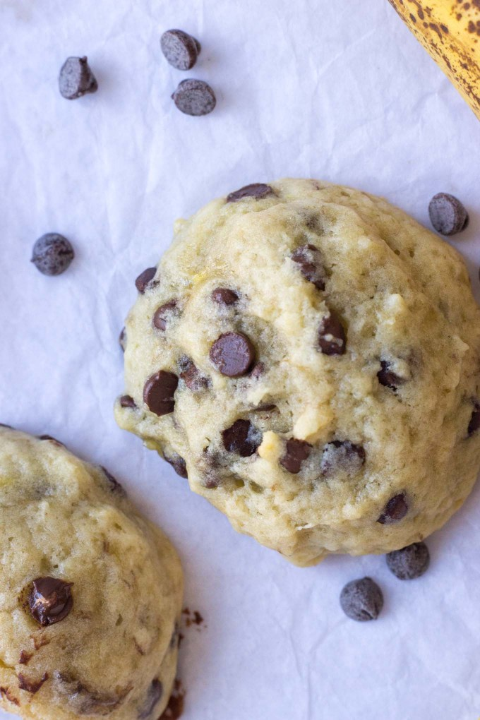 Banana Cake Cookies | Fork in the Kitchen