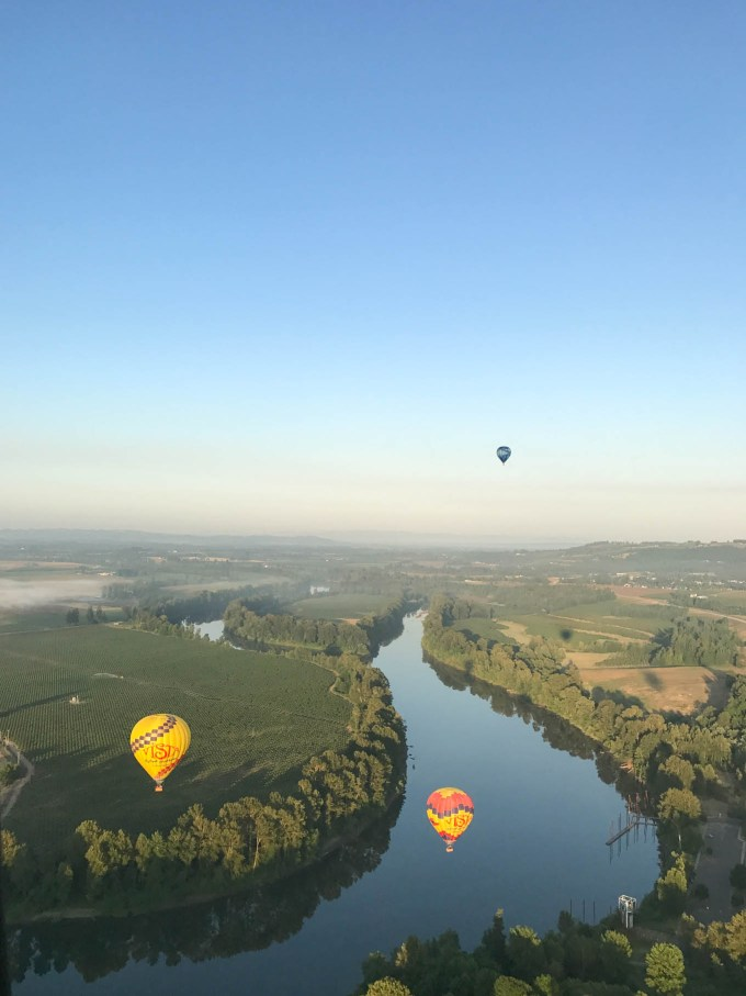 Hot Air Balloon Ride | Willamette Valley | Fork in the Kitchen