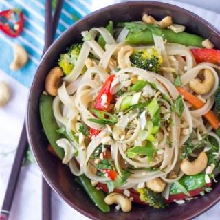 Easy Vegetable Stir Fry Noodles