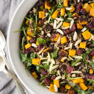 Wild Rice and Arugula Salad