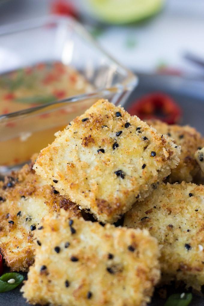 Crispy Sesame Tofu | Fork in the Kitchen