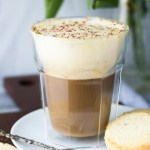 Vietnamese Egg Coffee with cookies - the most luxurious coffee you'll ever have!   Fork in the Kitchen