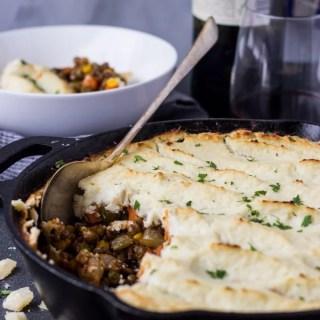 Healthy Vegetarian Shepherd's Pie