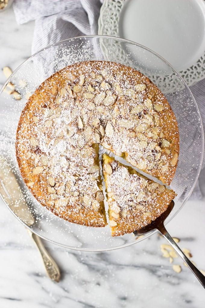 Almond Cardamom Cake | Fork in the Kitchen