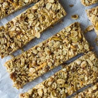No Bake Apple Granola Bars