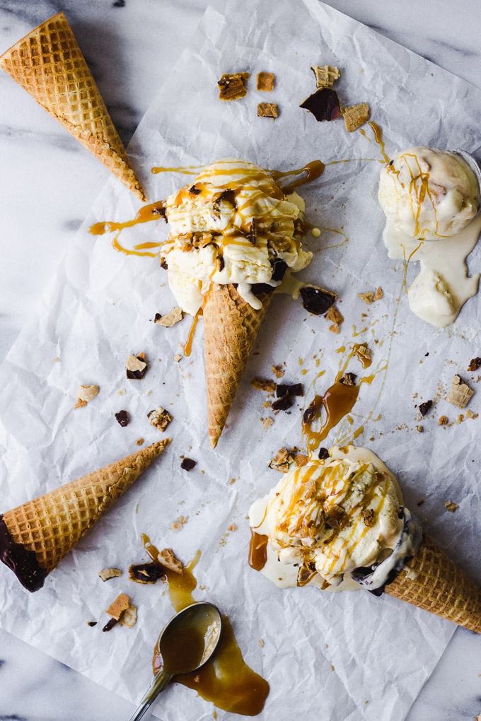 Sweet Corn Caramel Ice Cream | Fork in the Kitchen