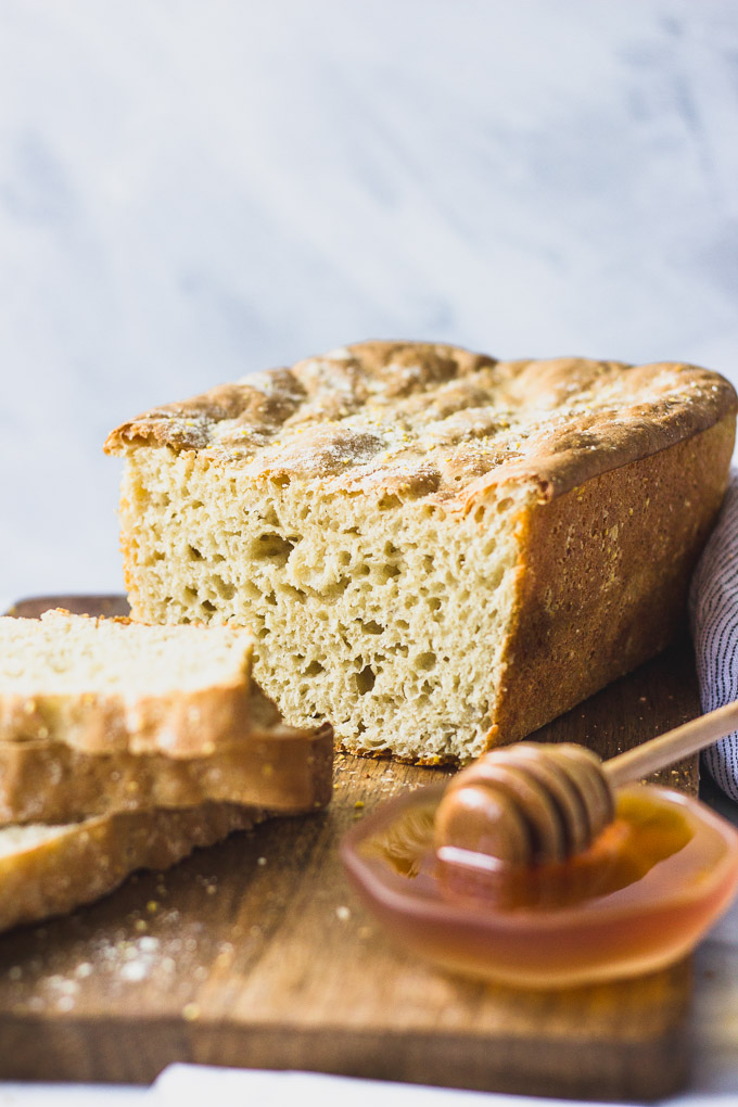 English Muffin Bread | Fork in the Kitchen