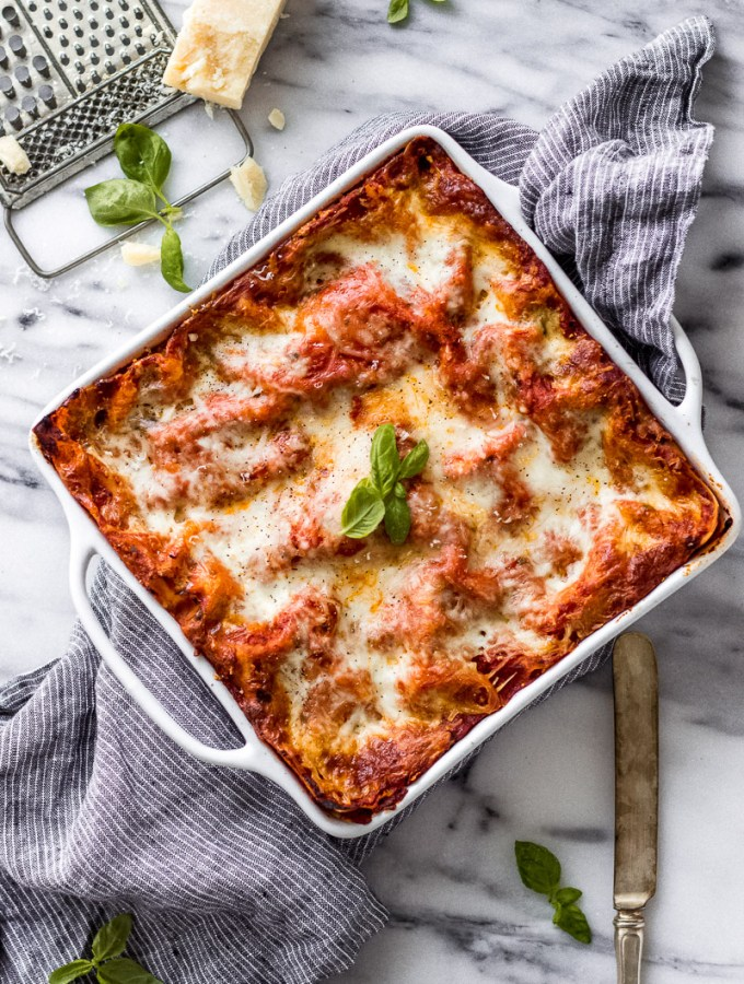 Vegetarian Spinach Ricotta Lasagna