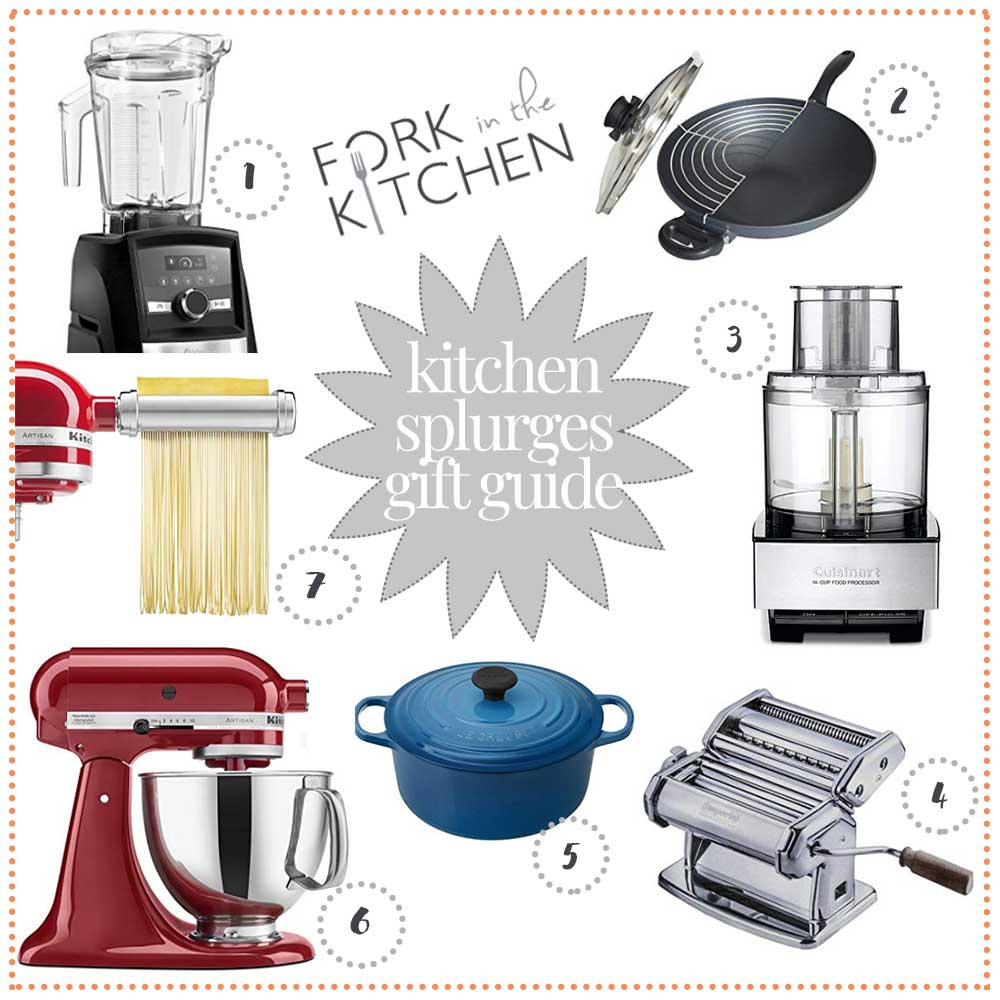 Kitchen Splurges Gift Guide 2018 | Fork in the Kitchen